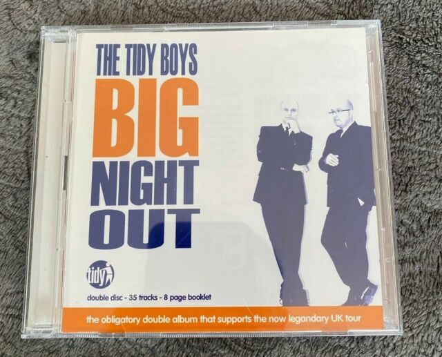 Tidy Trax : The Tidy Boys Big Night Out (2CD) Mixed by The Tidy Boys Hard House