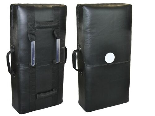 Pratze in ca 75 x37x15 cm Phoenix Schlagpolster Leder schwarz