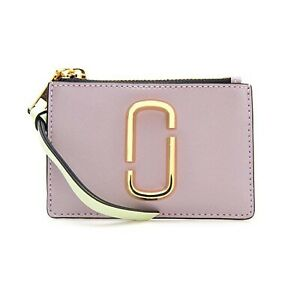 NWT-MARC-BY-MARC-JACOBS-Mini-Compact-Wallet-Card-Case-Dusty-Lilac-Multi-M0013359