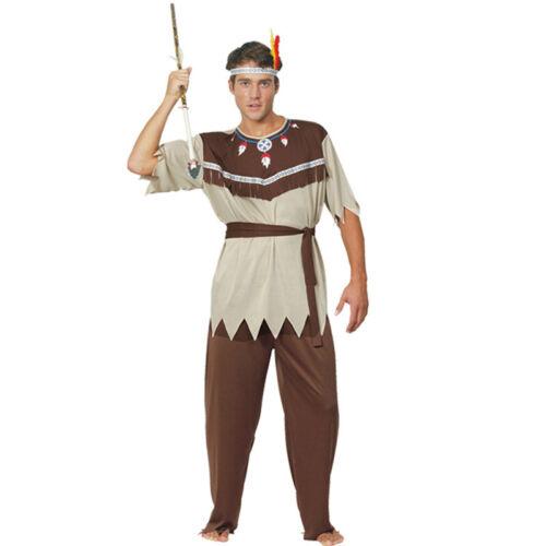 Primitive Man Costume Original Caveman Indian Leopard Cosplay Performance Party