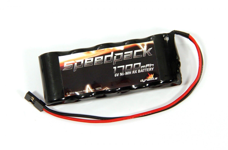 Dynamite Empfängerakku flach flach flach 6V 1700 NiMh 5 Zellen DYN1460 receiver Battery Akku 672ffa