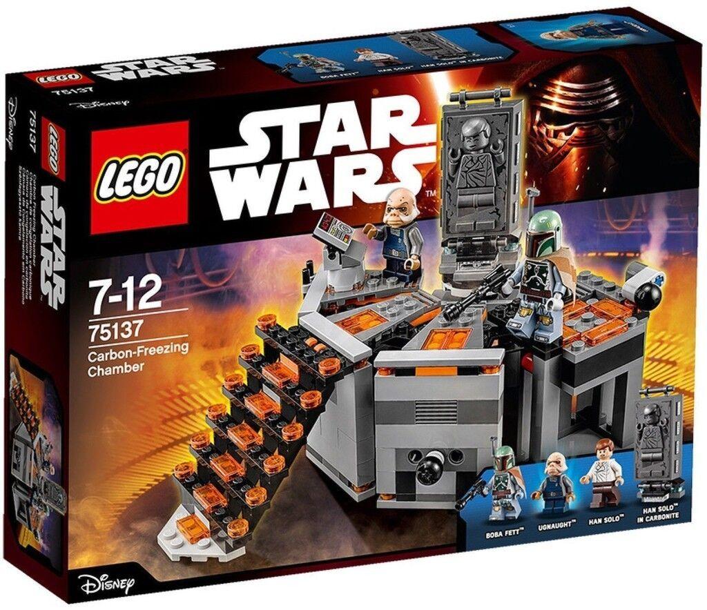 LEGO STAR WARS CAMERA DI CONGELAMENTO AL CARBONIO - LEGO 75137