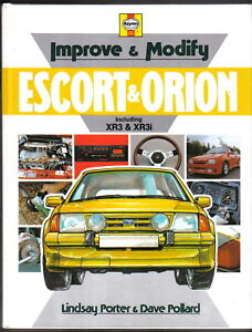 Ford-Escort-amp-Orion-inc-XR3-XR3i-Improve-Modify-step-by-step-instructions