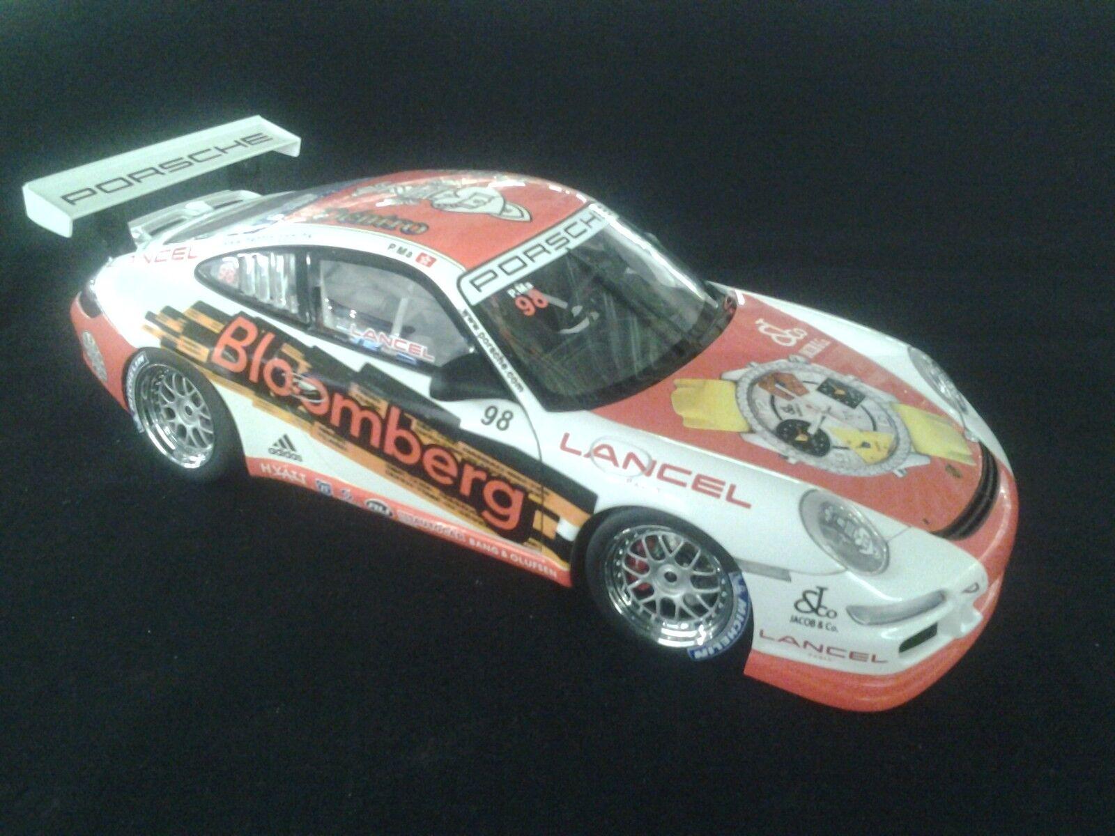 AutoArt Porsche 911  997  GT3 Cup 2006 1:18  98 Philip Ma  CHN   MCC