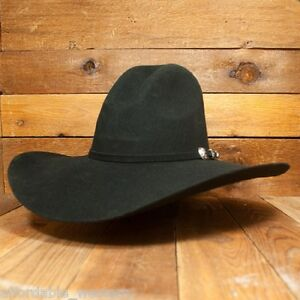 GUS ~ BLACK ~3X Wool Felt HAT~ 4.5