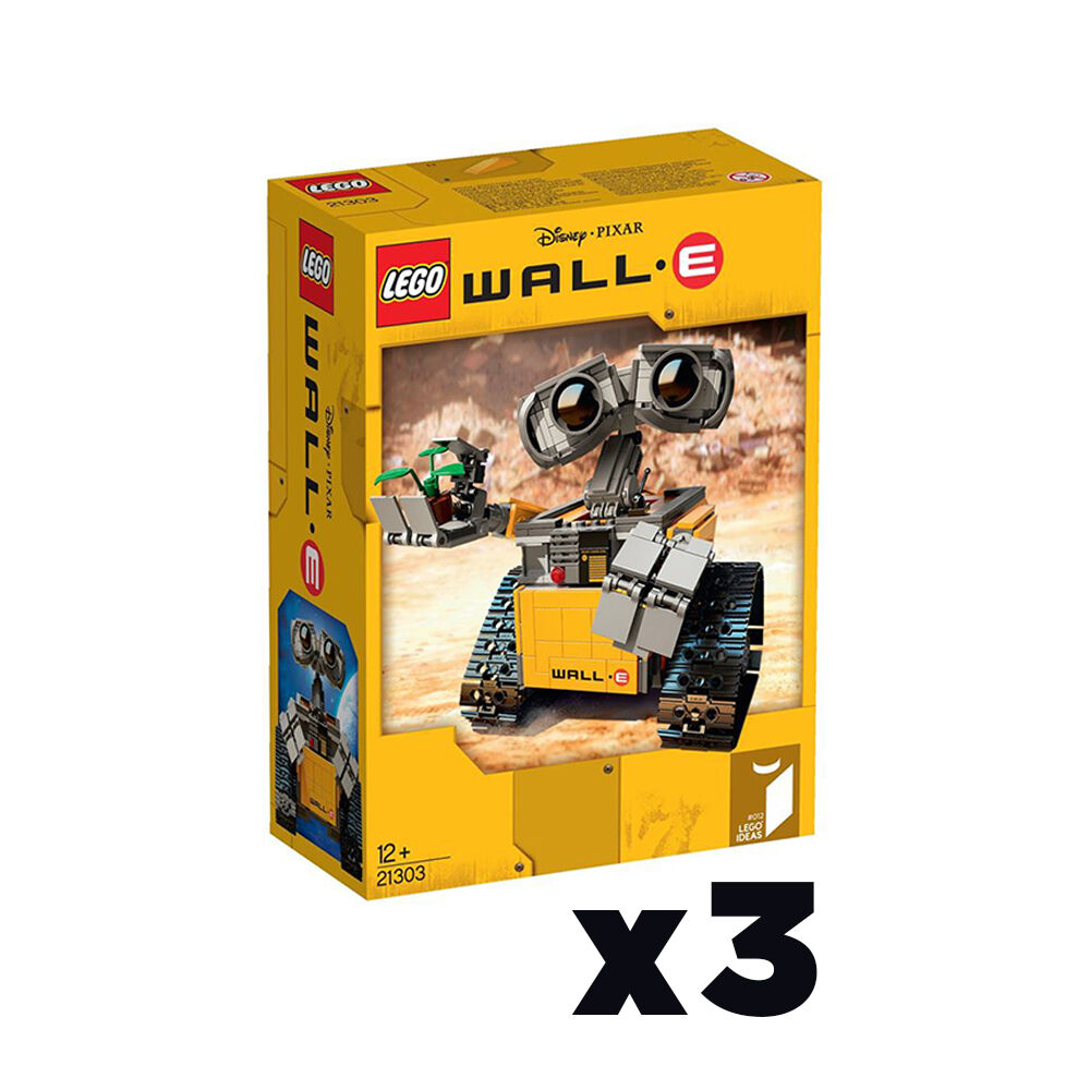 WALLE - - - LEGO - (21303) - New - (Sealed Boxes) - 3 Figures 4a7f4d