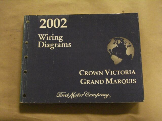 2002 ford crown victoria workshop service manual wiring diagrams rh ebay com 2004 Ford Crown Victoria Wiring Diagram 2003 Ford Crown Victoria Wiring Diagram