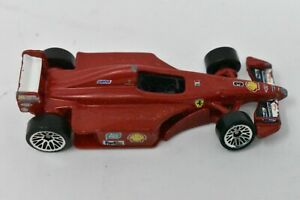 Vintage-Collectible-1998-Red-Hot-Wheels-Shell-Ferrari-Car