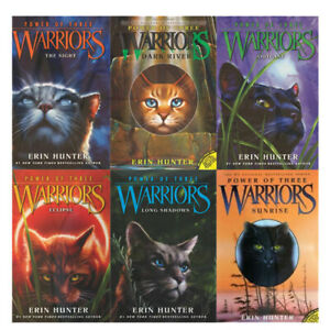 Power-of-Three-Warrior-Collection-Erin-Hunter-6-Books-Set-The-Sight-Outcast