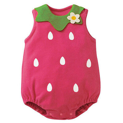 Newborn Kids Baby Boy Girl Infant Animal Romper Jumpsuit Bodysuit Clothes Outfit