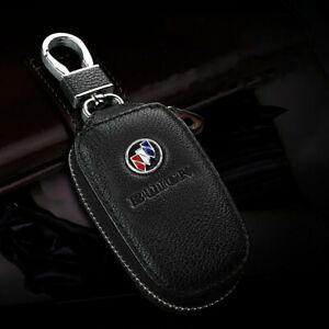 Black Pu Leather Universal Key Fob Holder Bag Cover Key Case For