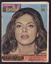 SORRISI 35/1961 CONNIE FRANCIS BOBBY DARIN DALIDA SIVORI SUAREZ CIRCO DELL'ACQUA