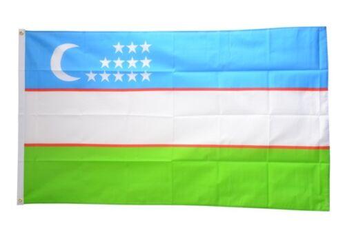 Fahne Usbekistan Flagge usbekische Hissflagge 90x150cm