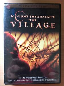 The-Village-DVD-2004-Terror-Pelicula-de-Cine-con-Bryce-Dallas-Howard-Region-1