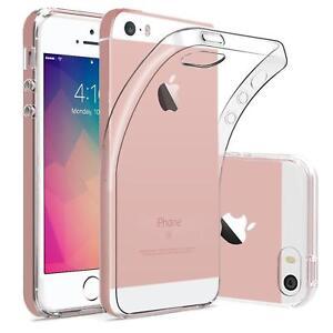 Duenn-Slim-Cover-Apple-iPhone-5-5S-SE-Handy-Huelle-Silikon-Case-Schutz-Tasche