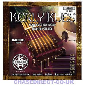 kerly kues long life electric guitar strings 9 46 gauge 6 string coated 5055438914332 ebay. Black Bedroom Furniture Sets. Home Design Ideas