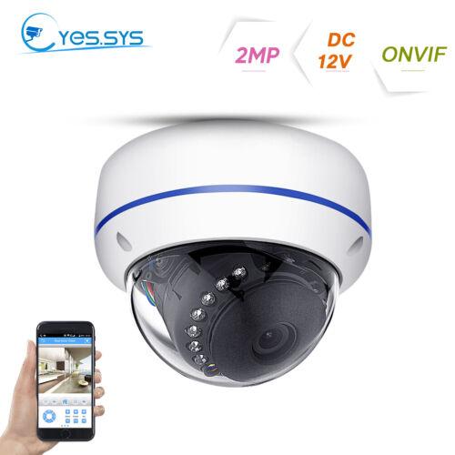 Outdoor H 265 15IR 48V POE IP HD2MP/3MP/5MP CCTV DOME Camera