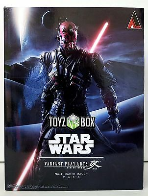 "In STOCK Star Wars ""Darth Maul"" No. 4 Variant Play Arts Kai Action Figure"