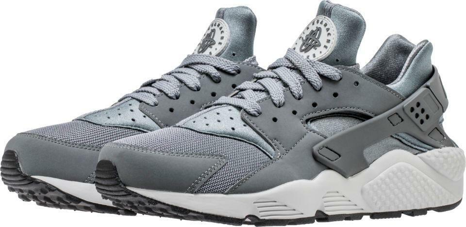 NIKE AIR HUARACHE 318429 048 MESH/NEOPRENE COOL GREY/NEUTRAL GREY - MESH/NEOPRENE 048 4a3a22