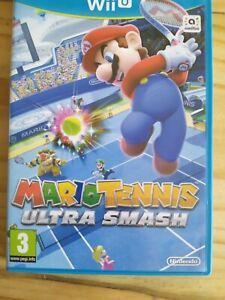 Mario-Tennis-Ultra-Smash-Nintendo-Wii-U-Game-Boxed-amp-Manuals-Fast-Free-UK