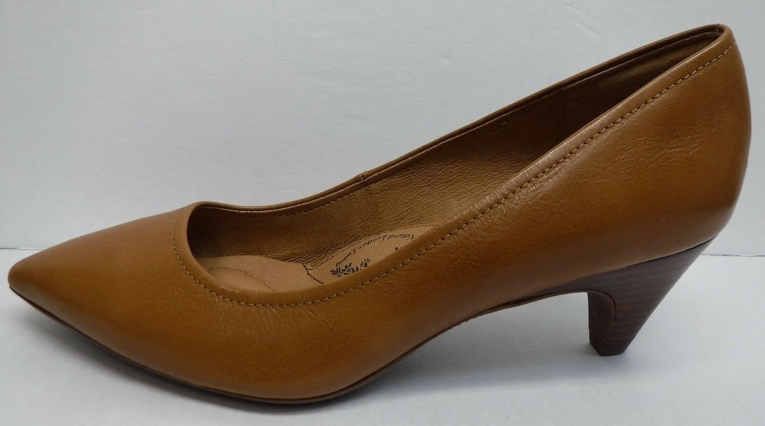 Sofft Taille 8.5  marron Leather Kitten Heel New femmes chaussures