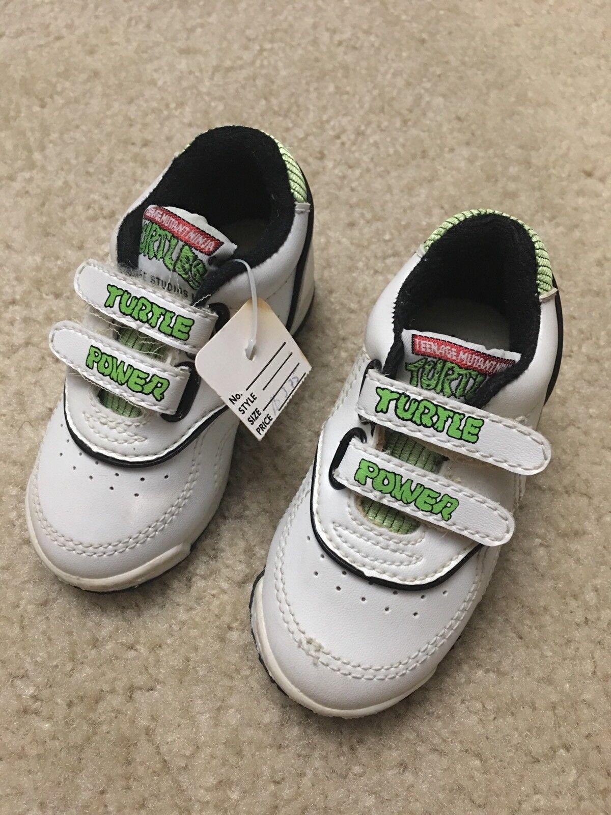 Vintage 1991 TMNT Baby shoes