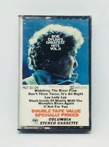 Bob Dylan Greatest Hits Vol. II new cassette USA Columbia PGT 31120