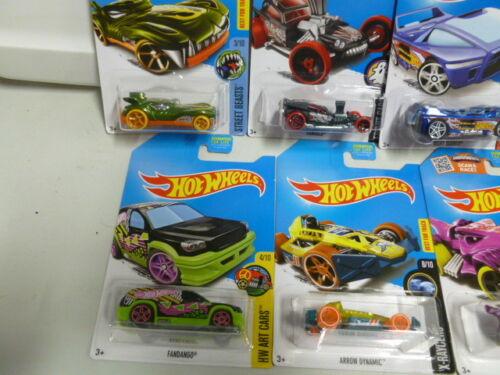 Lot of 7 Hot Wheels 2013 Treasure Hunts with Tread Air