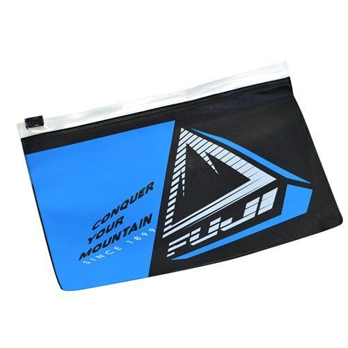 FUJI PA-20151812 Waterproof Zipper Bag Black x Blue