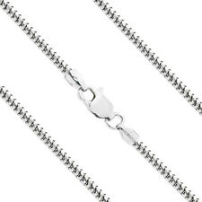 """1.4x0.9mm Curb Italian Quality 925 Sterling Silver 16/""""-30/"""" Chain Necklace"""