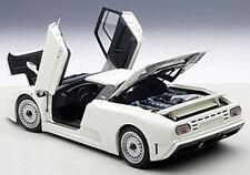 Autoart BUGATTI EB110 GT DARK WHITE Color in 1/18 Scale. New Release! In Stock!