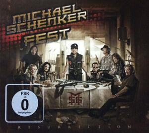 Michael-Schenker-fisso-Resurrection-CD-DVD-NUOVO