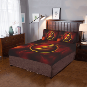 The Flash 3-Piece Bedding Set Duvet Cover Quilt Cover Pillowcases