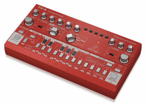 Behringer TD-3-RD Bass Line Synthesizer Analog Synthesizer Sequencer VCO VCF VCA