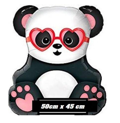 XL Folienballon Verliebter süßer Panda 50x45cm Party Ballon kung fu Panda Disney