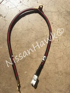 Image Is Loading Oem Nissan Negative Battery Cable Ground Maxima