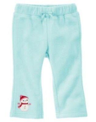 NWT Gymboree Girls Cozy Cutie Snowman Leggings Size 3-6M 6-12M 12-18M  2T 3T