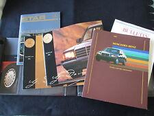 1986 Mercedes Dealer Album Brochure Pk 300 420 560 SEL 560SEC 560SL Sale Catalog
