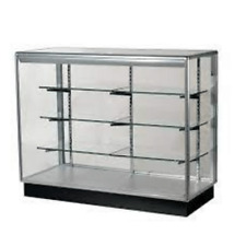 4ft Glass Counters 3 Shelves Led Lights From Orange Pico Store Moving Sale