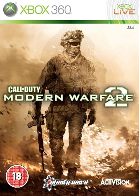 XBOX 360 CALL OF DUTY : moderne guerre 2 - Excellente