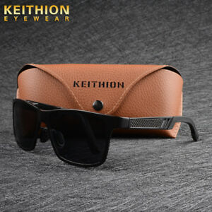 KEITHION-Aluminium-HD-Polarized-Sunglasses-Men-Driving-Fishing-Sports-Eyewear