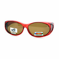 Polarized Fit Over Glasses Sunglasses Womens Fashion Oval Otg Frame