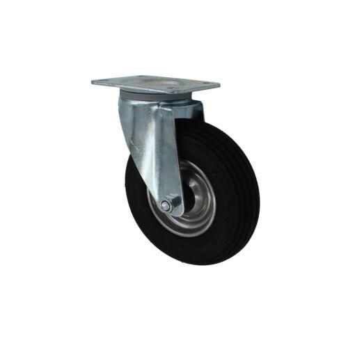 4 pezzi 200 mm luftberefte trasporto ruoli come ruote pivotanti trasporto dispositivi ruoli