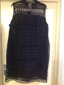 Shift Geometric 22 s M Collection Sleeveless Lace Dress Size wqT4BfX4