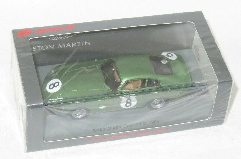 1 43 ASTON MARTIN DP214 Le Mans 24 hrs 1963  8 B. McLaren I. Ireland