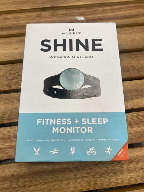 Open Box Misfit Shine Activity Fitness+Sleep Monitor Food Log Waterproof