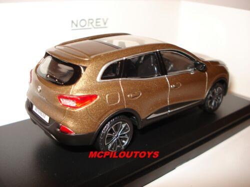 NOREV RENAULT KADJAR SUV CAPPUCCINO BROWN 2015 au 1//43°
