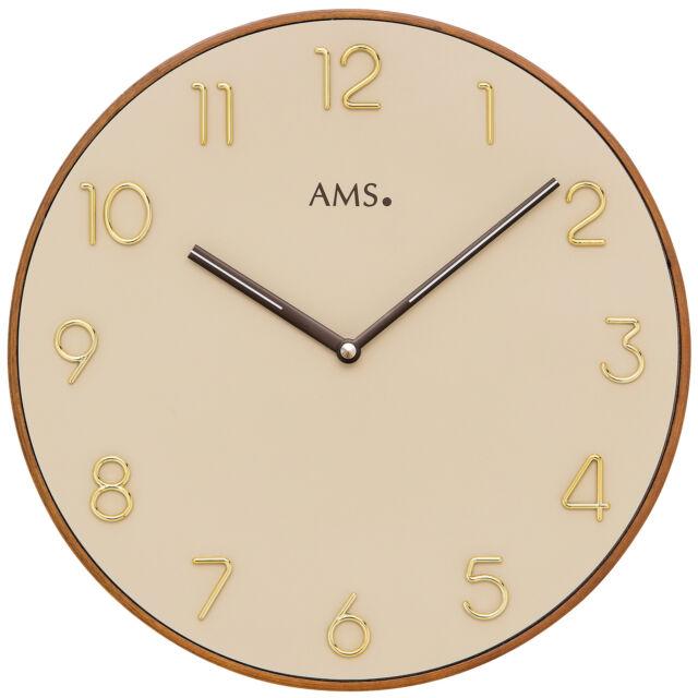 AMS Wanduhren modern 9563