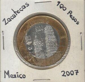 Mexico-100-Pesos-Estado-de-Zacatecas-Coin-Year-2007