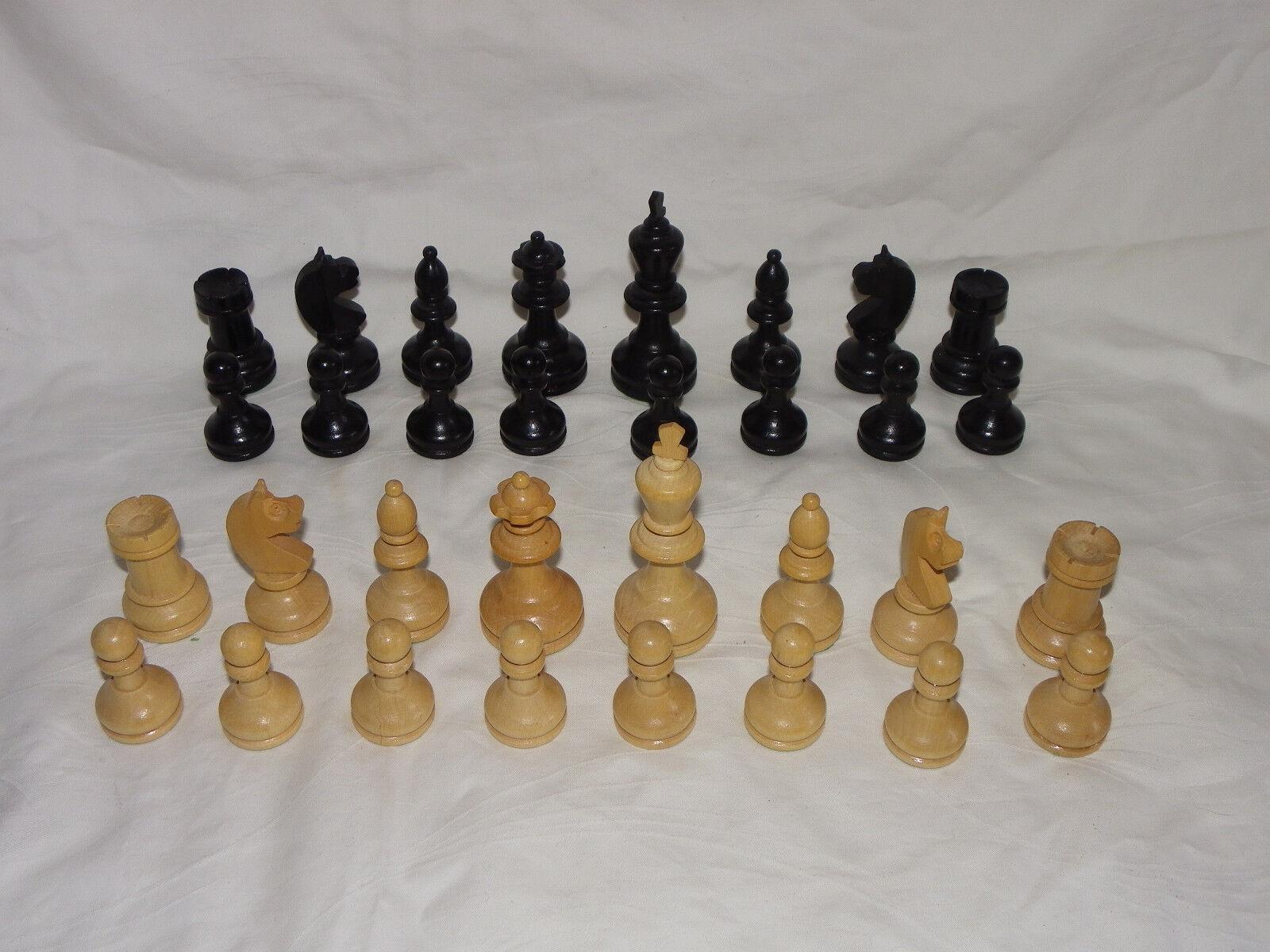 Schachfiguren für Schachcomputer z.b. für Mephisto Novag Fidelity